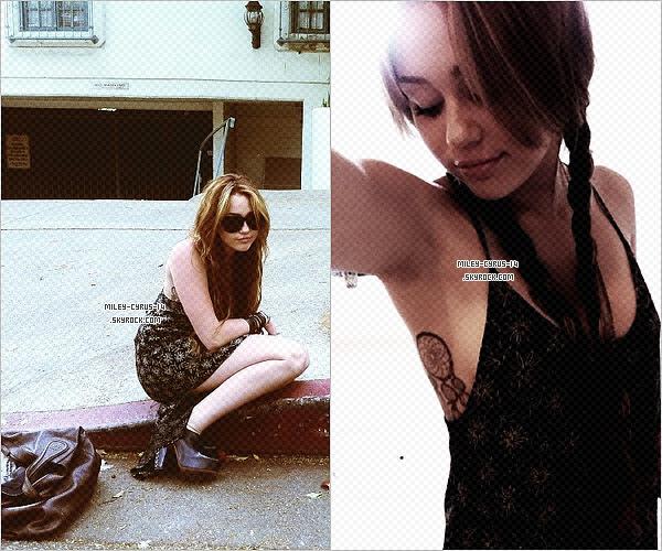17 avril 2011 : Miley quittant le magasin de vetement American Rag à Los Angeles. Decouvrez egelement de nouvelles photos personnelles datant de ce même jour
