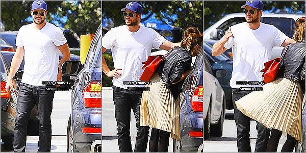 23 avril 2011 : Miley accompagnée de ses amies et de LIAM  allant faire du shopping à Toluca Lake