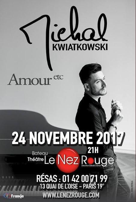 Michal en concert à Paris :)