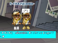 Ma jumelle plus que tout ! ♥♥ ;$
