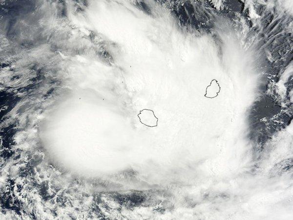 Tempête tropicale : Haliba près de la Réunion !
