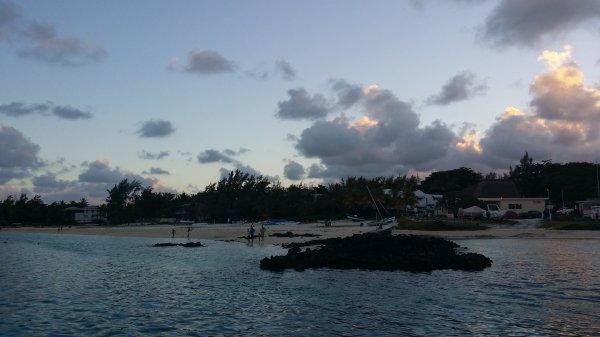 La plage (Maurice)