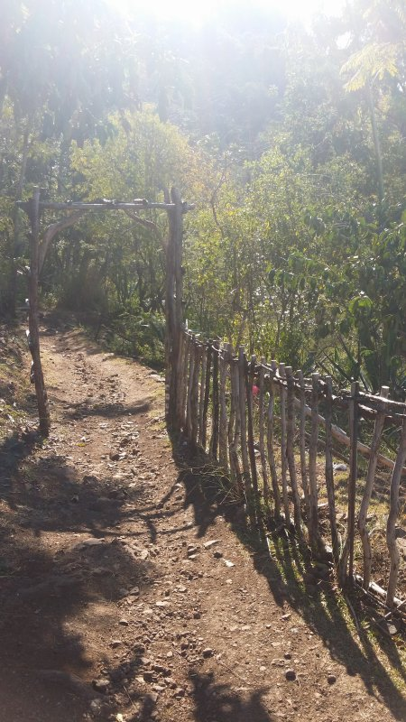 Sentier des rampes