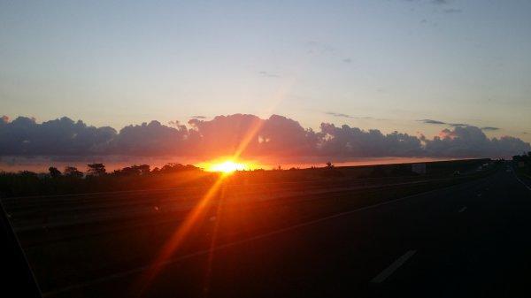 Lever de soleil de Saint-André