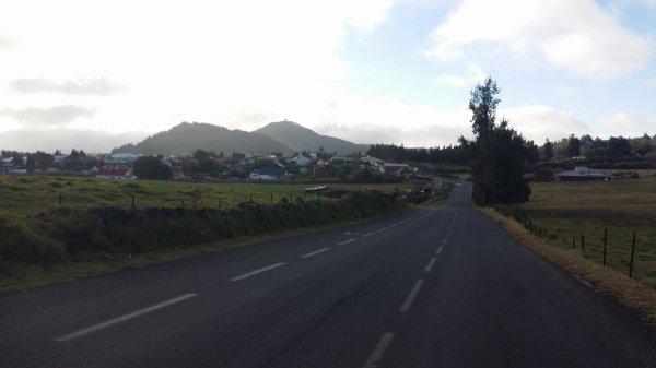 La route et le domaine des Tourelles