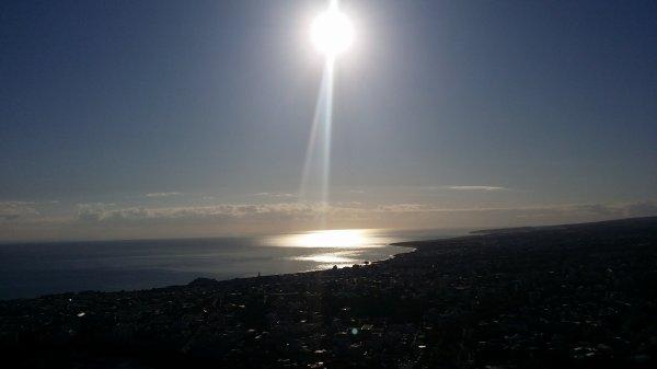 Lever de soleil sur Saint-Denis
