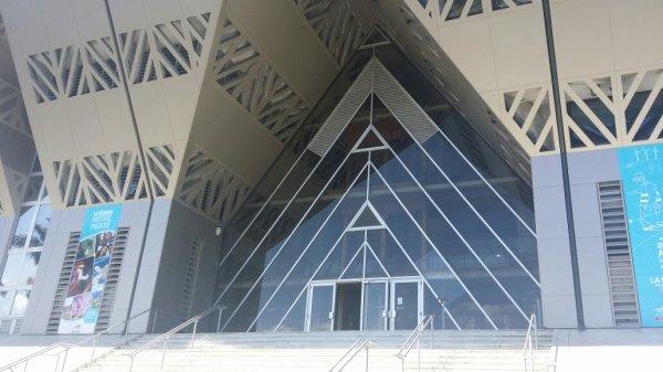 Région réunion / Pyramide inversé