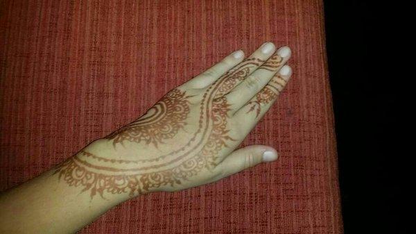 Tatouage à l'henné