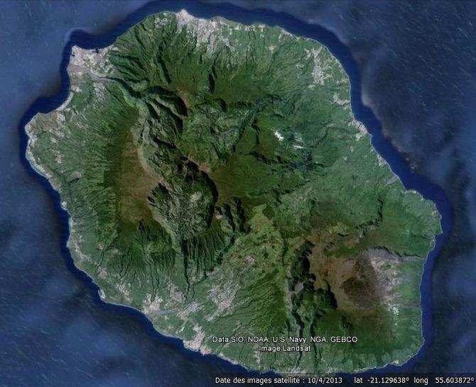 L'île de la Réunion et l'île Maurice