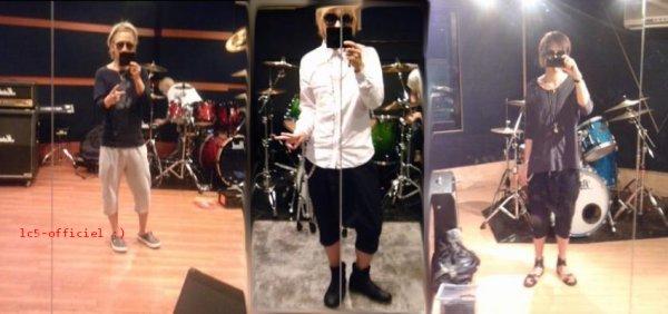 Quelques photo dans le studio quand notre cher Miku ne c pas quoi faire :)