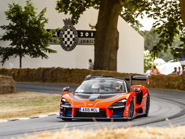 BRUNO AU FESTIVAL OF SPEED OF GOODWOOD