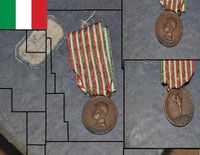 Médaille commémorative italienne 1915- 1918
