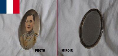 Miroir personnalisé.