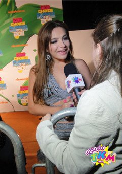 Brenda Asnicar le KCA (Choice Awards enfants!)