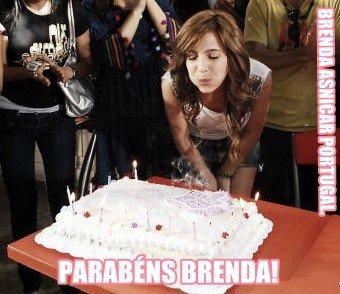 Félicitations pour Brenda!