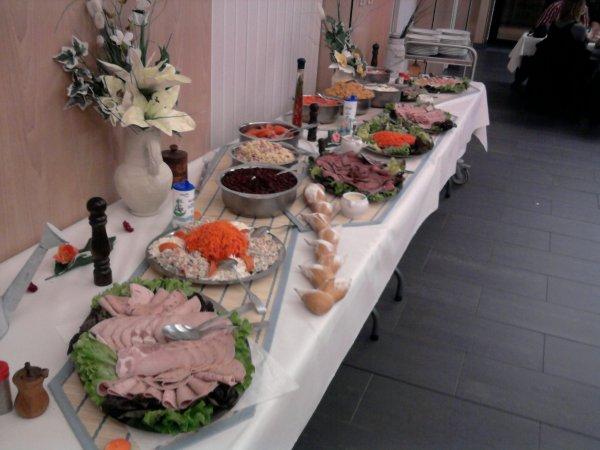 buffet froid a 15¤ par personne