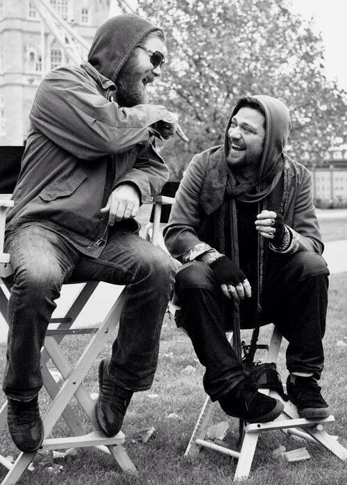 Bam Margera and Ryan Dunn from Jackass