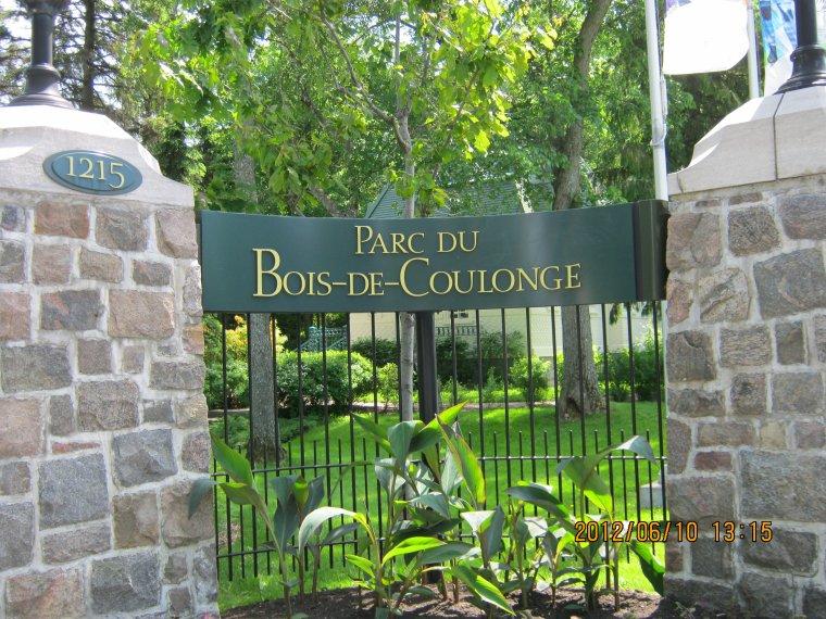 (l) PARC DU BOIS DE COULONGE,QUÉBEC (l)