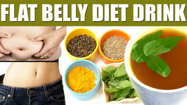 BELLY FLAT DIET DRINK | LOSE BELLY FAT IN 1 WEEK | 100% NATURAL DRINK