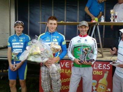 Rouxeville podium Dep 1