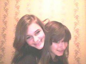 Ma petite soeur , je t'aime tellement  <3