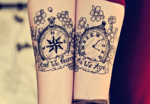Horloge Tatouage