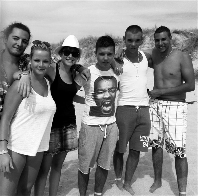 Moi la famille et sourtout les poto :D ;)
