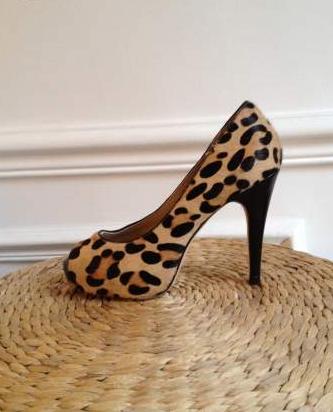 Escarpins leopard 38