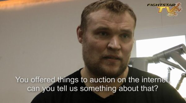 Interview Semmy Schilt about Auction For Japan