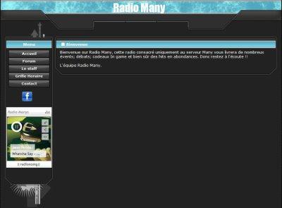 Radio many