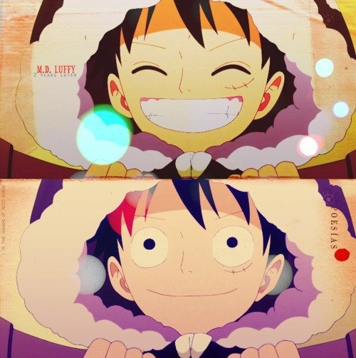 Je veux toujours te voir sourir ♥luffy (one piece)