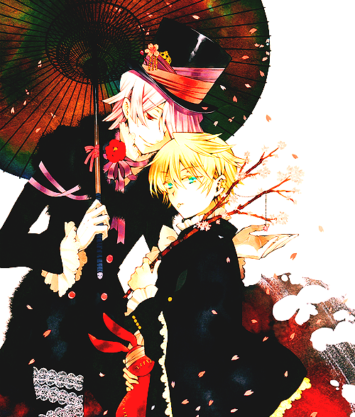 ao no exorcist + pandora hearts + switch girl