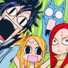 Fairy tail et one piece♥
