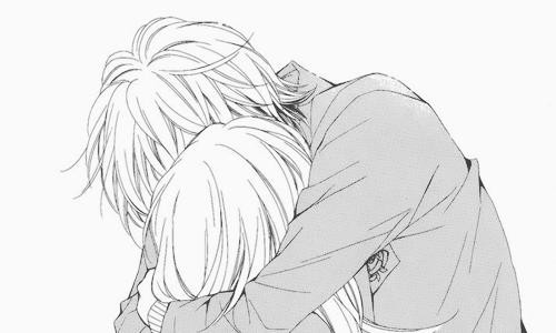 Пара в постели аниме