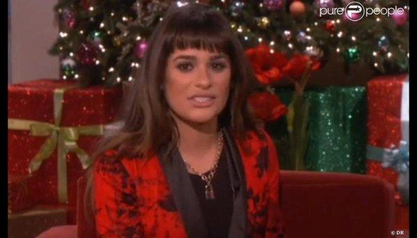 Lea Michele ,battante; se livre pour la 1re fois sur la mort de Cory monteith le 12/12/13