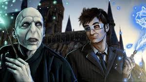Quand le Docteur arrive dans le monde d'Harry Potter ( ou l'inverse)