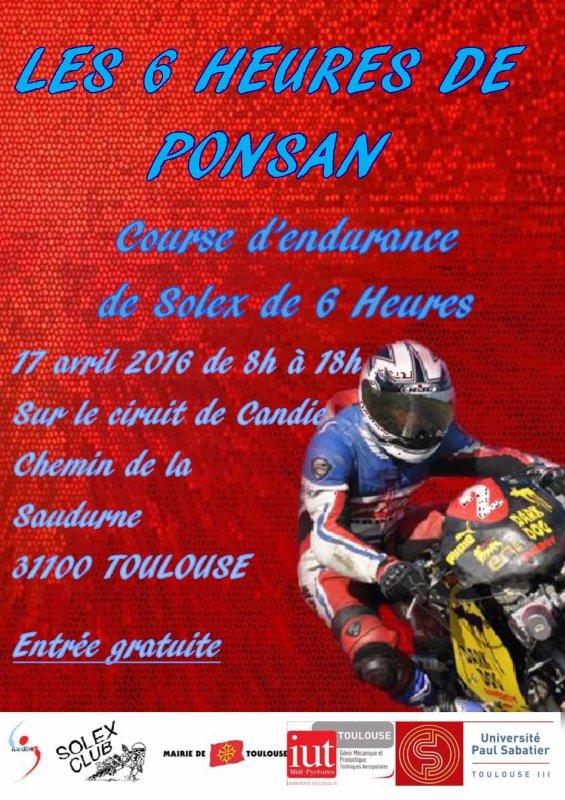 je me suis inscrit pour la course du 17 avril à Toulouse