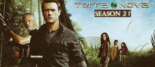 Terra Nova en route vers une Saison 2 ... ?