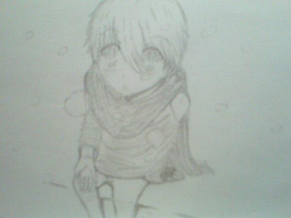 Little Boy sous la neige~