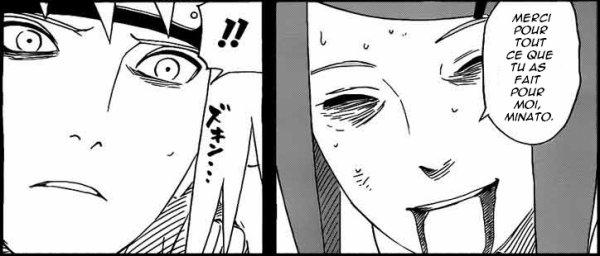 Dialogue entre Minato et Kushina