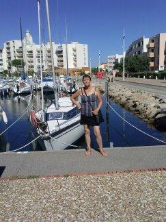 moi en vacance a port lecate