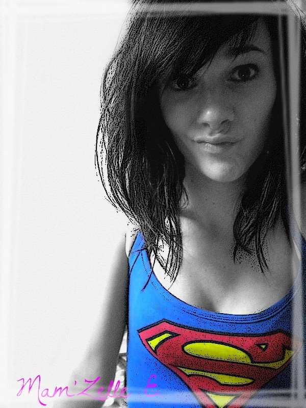 I'm a SuperGirl, in this Fucking World !!