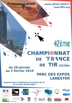CHAMPIONNAT DE FRANCE 10M LANESTER DU 28/01 AU 02/02