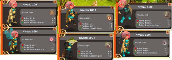 Team lvl 100 et changement !