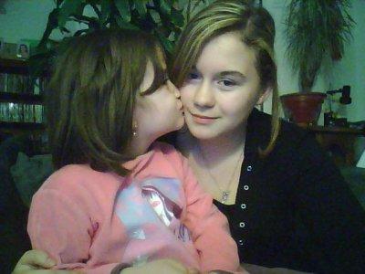 Moi et ma soeur =P