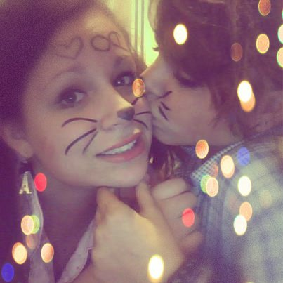Ma soeur et moi <3 Zeuh t'aimeuh :3 !