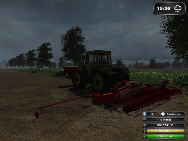 Après le labour les semis !!