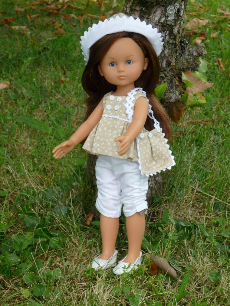 Chloé habillée par Aline