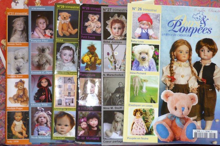Ours et poupées