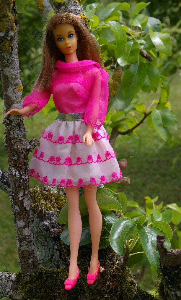 "Barbie - ""happy go pink"" de 1969"